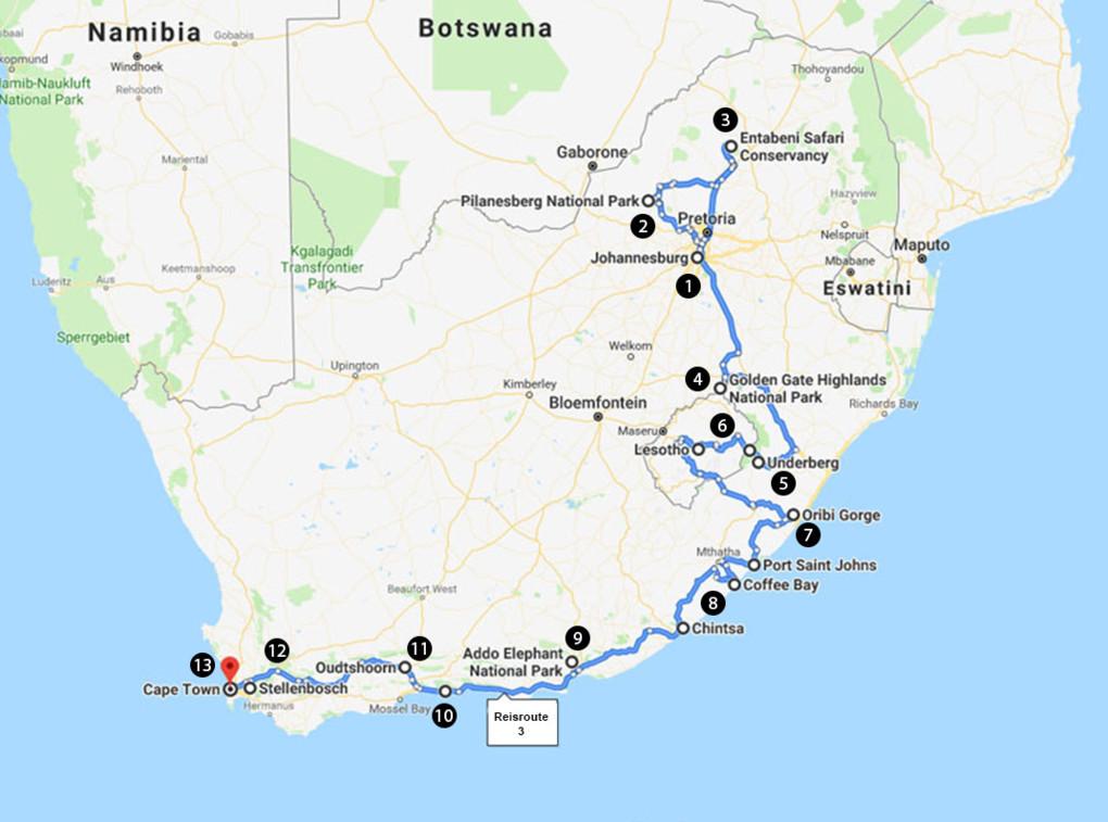 Het complete Zuid-Afrika in één maand
