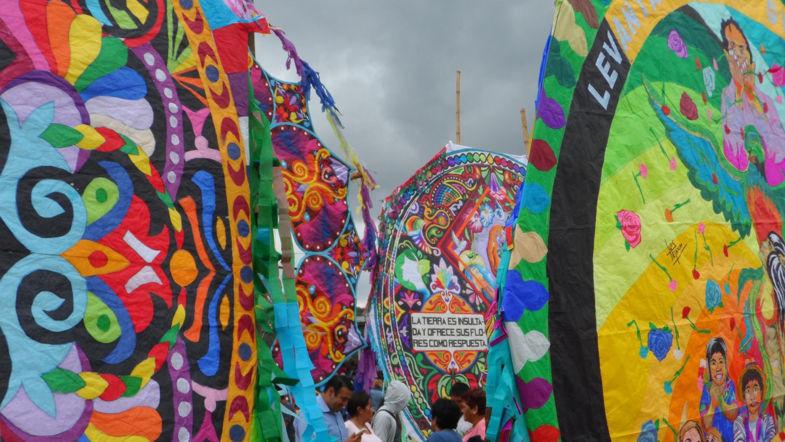 Colorful Giant Kites