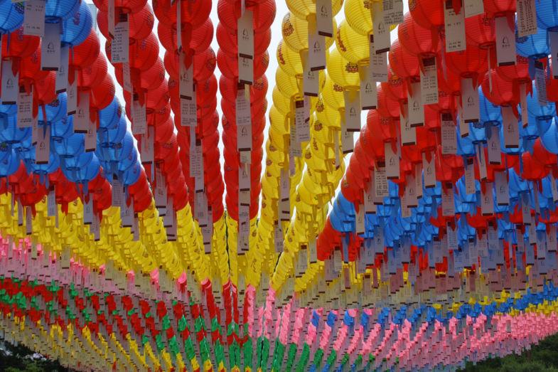 Buddha's verjaardag in Zuid-Korea