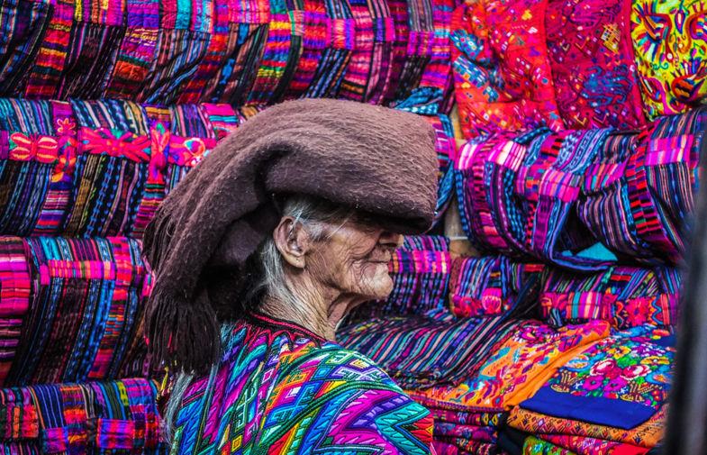 Old Mayan Lady, Antigua Guatemala