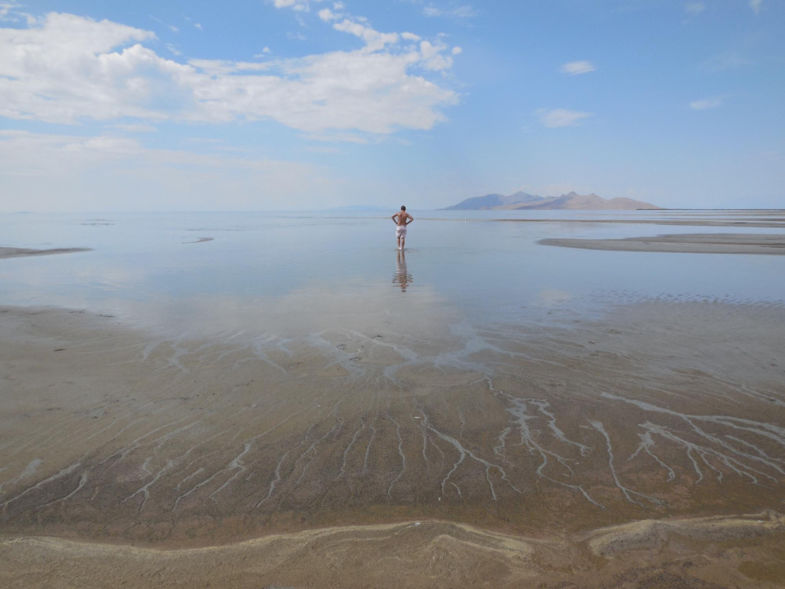 Salt Lake, hot and steamy