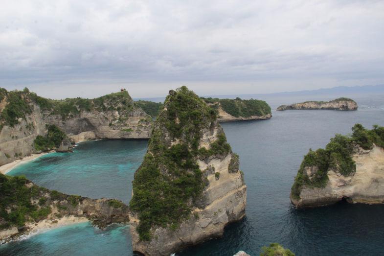 Nusa Penida bij Bali, een nog ongerepte schoonheid.