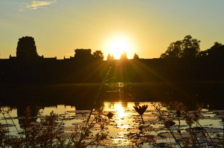 Zonsopkomst Ankor Wat