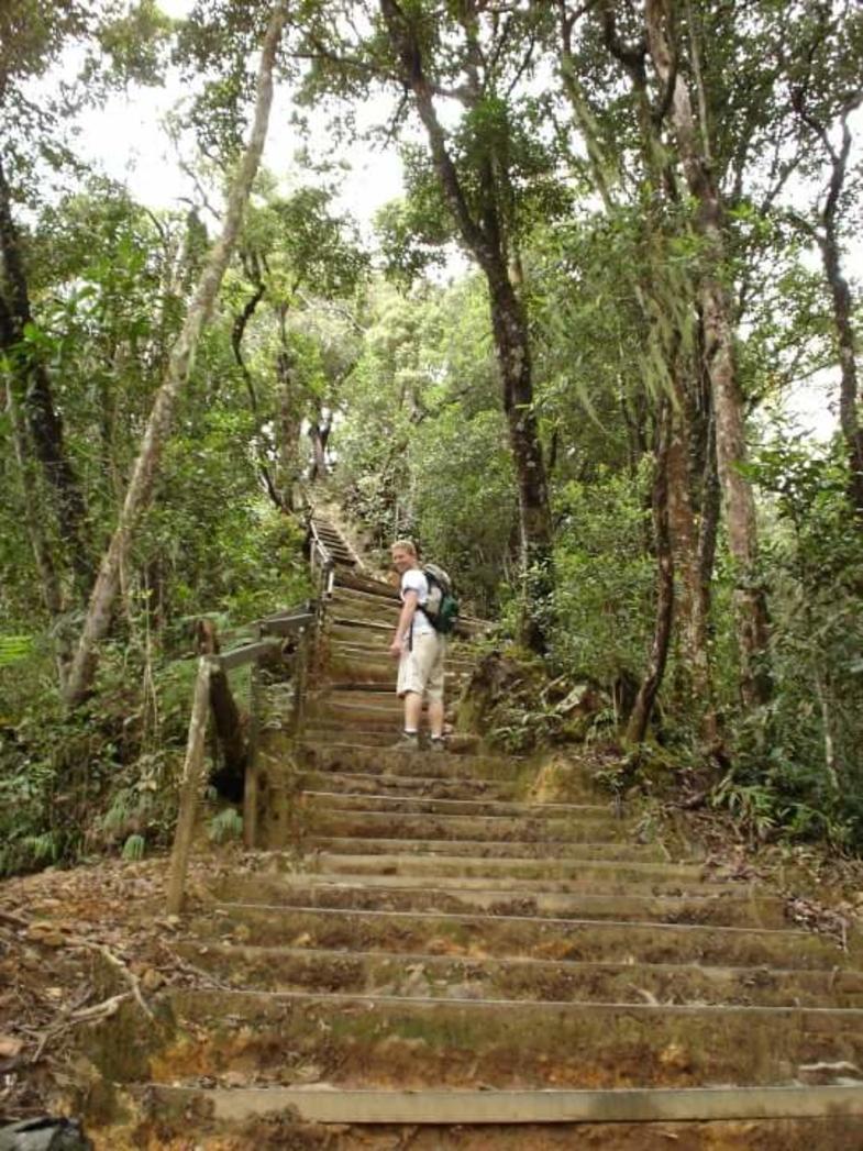 Beklimming van de Kota Kinabalu