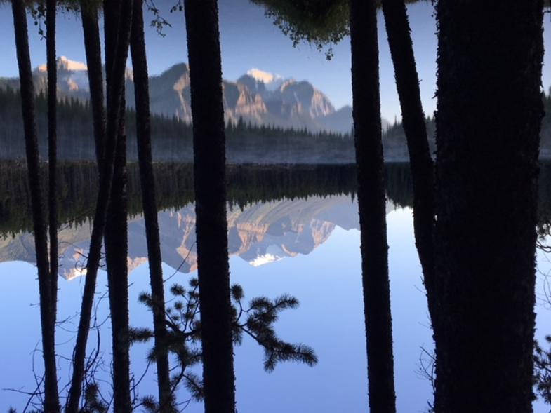 Lake Herbert-Banff national park-Canada