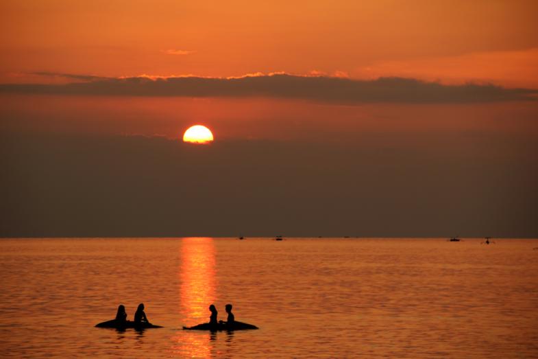 Balinese sunset - studytrip 2017
