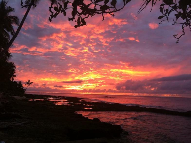 Sunrise @ Indonesia, Ambon-Latuhalat