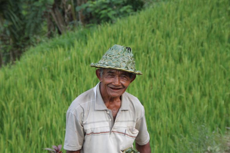Bapak in Tegalalang, Bali