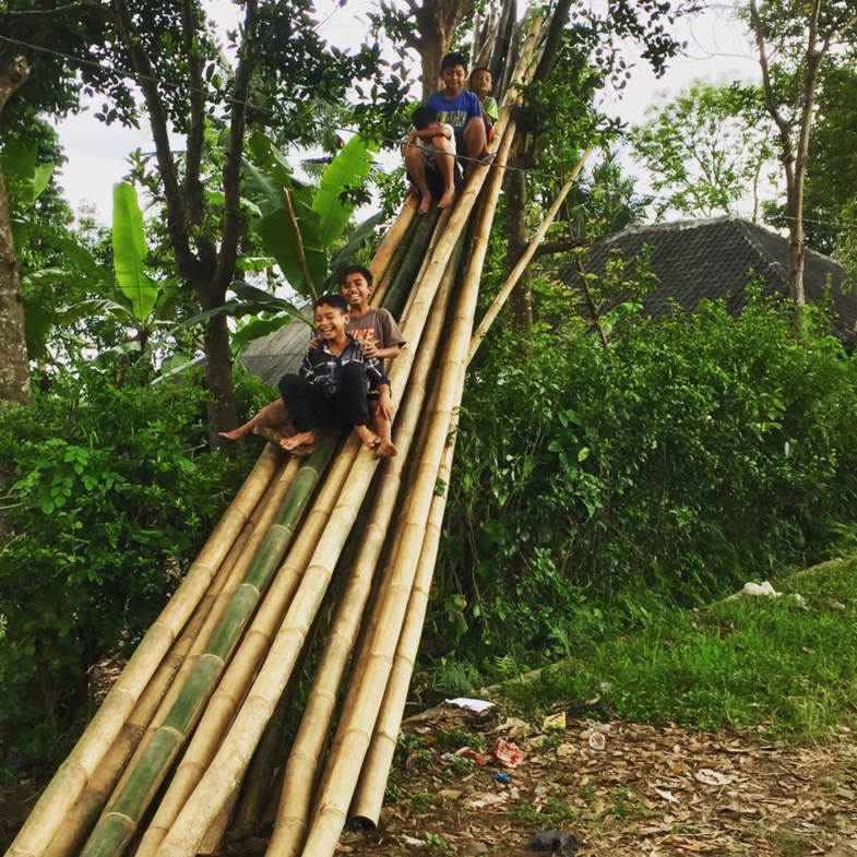 From the slide! Tetebatu Lombok Indonesia