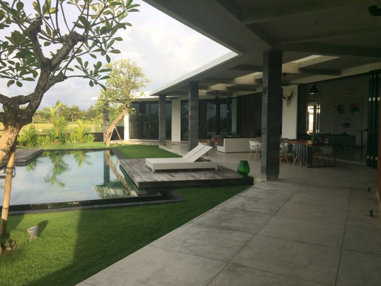 Bali house.