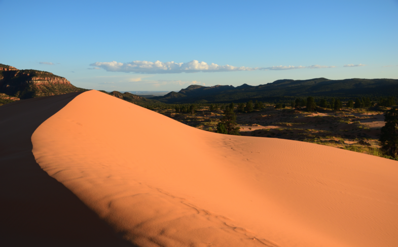 Sunset @ Coral Pink Sand Dunes
