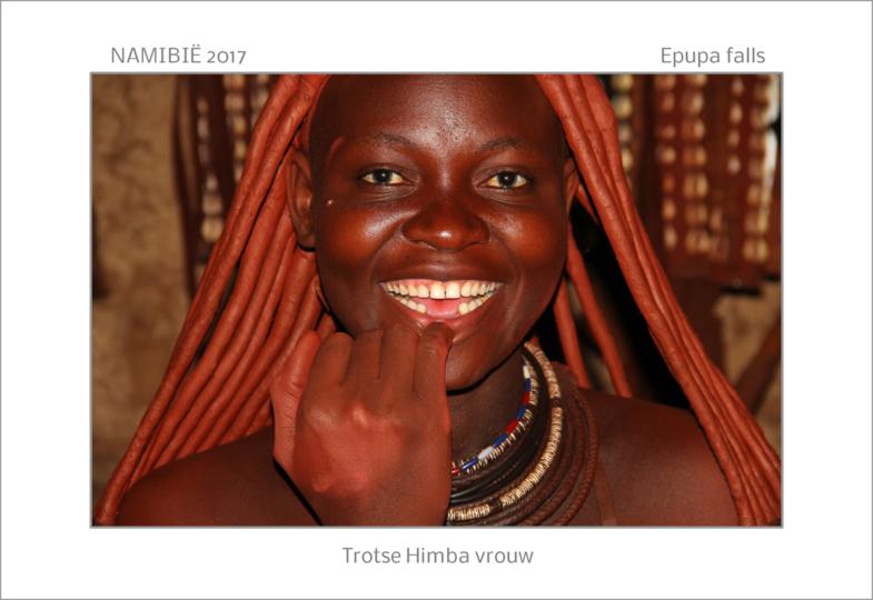 Trotse Himba vrouw