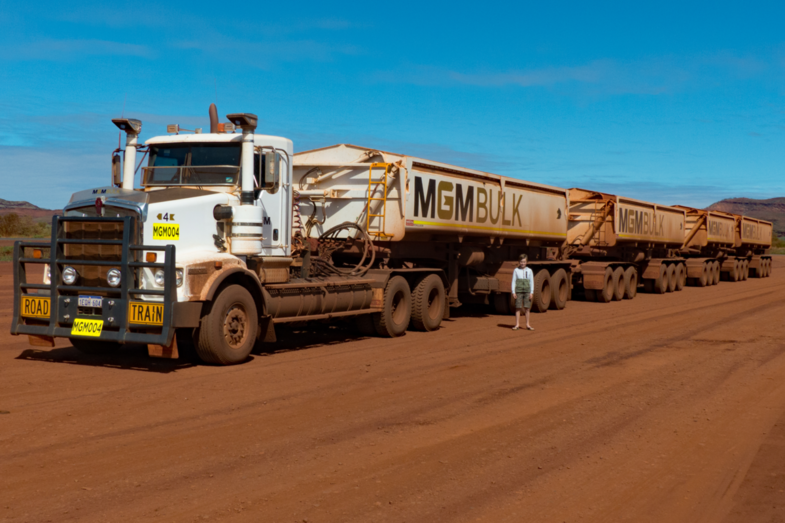 Road train Port Hedland