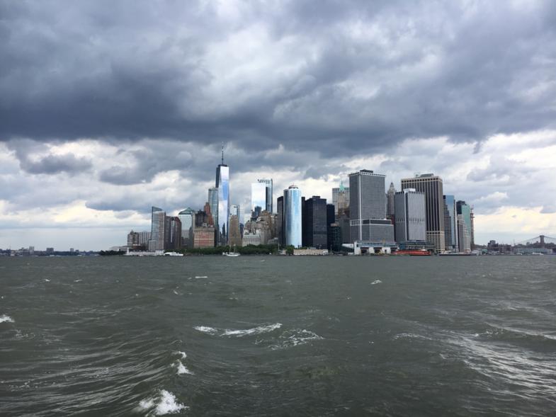 New York vanaf het water