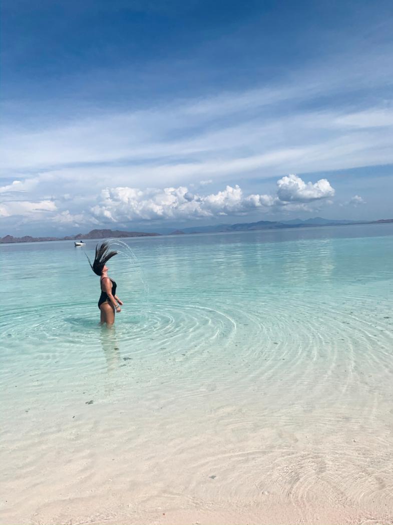 Verfrissende duik op Komodo