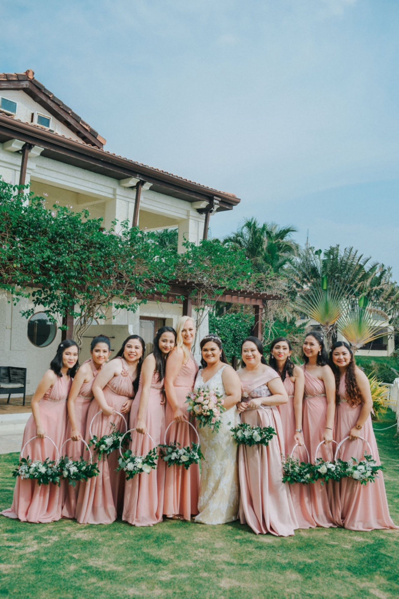 Bridesmaids, the odd one out