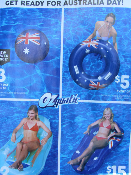 Get ready for Australia day