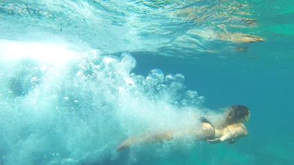 De allermooiste blauwe zee