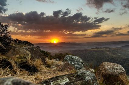 Airstrip Sunset
