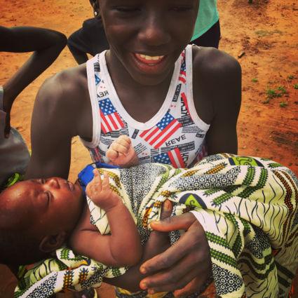 Plaatselijke bevolking Gambia