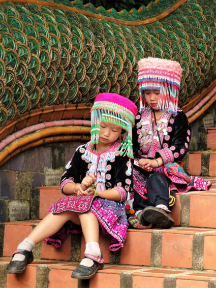 Local, colorful people - Chiang mai