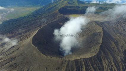 Bromo vulkaan op Java  vanaf boven