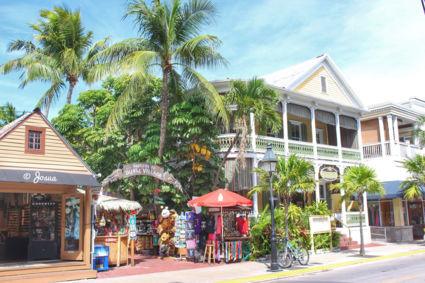 Walking in Key West
