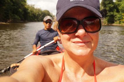 Lekker varen in het amazonegebied