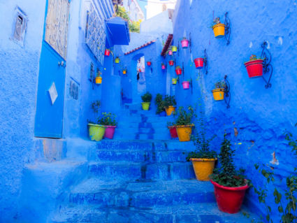 The Blue City, Chefchaouen Morocco