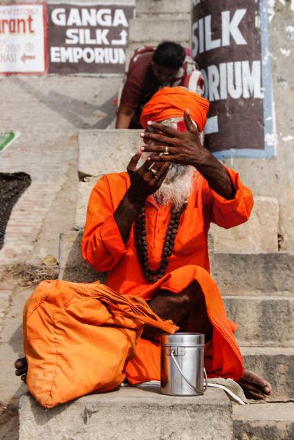 Sadhu, Varanasi India