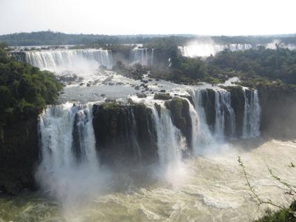 De prachtige watervallen van Foz de Iguazu Argentinië