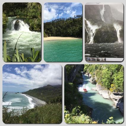 Overal waar je ook bent in Nieuw Zeeland vind je prachtige plekken met water