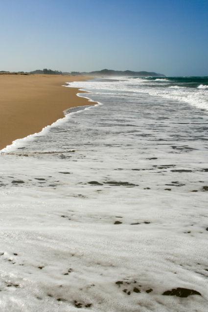 Strand St. Lucia-Zuid Afrika