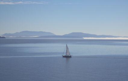 Met de ferry naar Vancouver Island