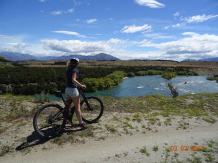 Mountainbiken in NZ is een wereld van verschil, vergeleken met NL.