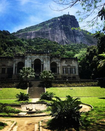 Het plan was Jardim Botanico maar uiteindelijk toch; Parque Lage