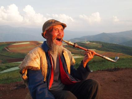 Rode aardegebied (Hongtudi), Zuid-China