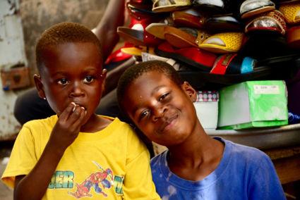 ergens in Lomo op een lokale markt