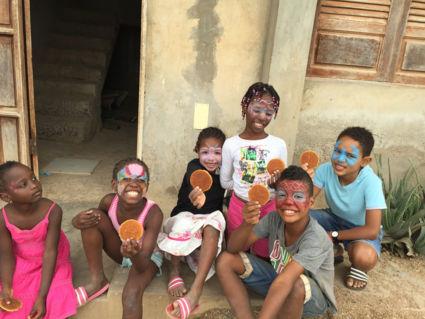 Kinderfeestje georganiseerd Op zijn Hollands met een stroopwafel