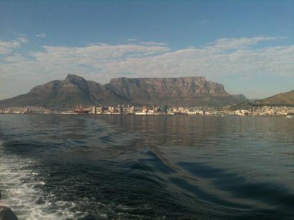 Tafelberg vanaf het water