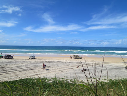 4x4 and Rainbowbeach is happiness!