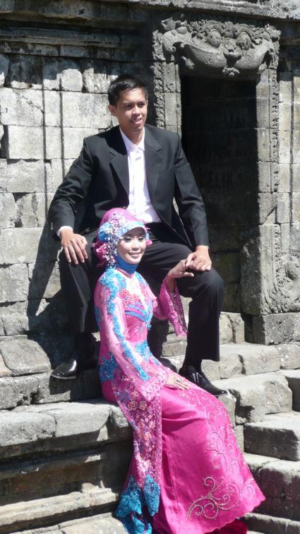 Bruidspaar Cand Rambanan