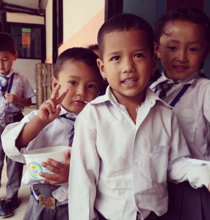 Nepalese vreugde
