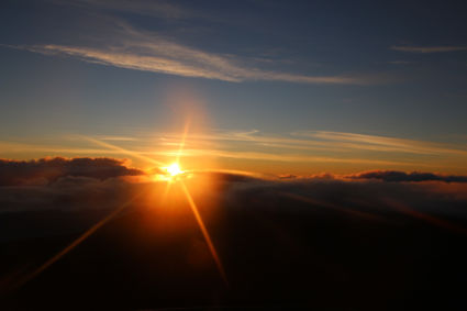 Sunrise Haleakala Summit
