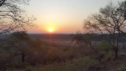 Zonsopgang in Krugerpark