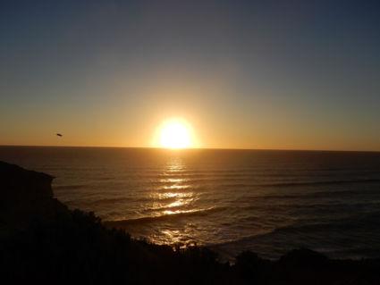 Sunset Great Ocean Road, Australia