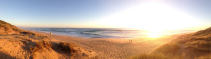 na een lange dag in de stad even een rust moment aan het strand.