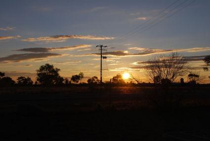 onderweg overnachten bij een roadhouse tee tree