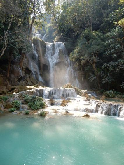 Mooiste waterval in Laos
