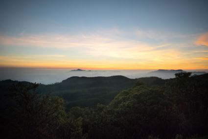 Sunrise at Horton Plains, Sri Lanka